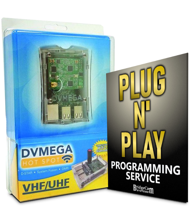 DMR Plug and Play Package( Programmed AnyTone and DVMEGA